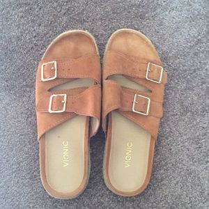 Gently used Vionic sandals